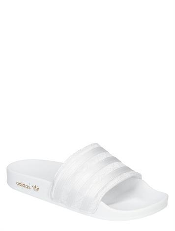 Adidas Adilette Satin Women White