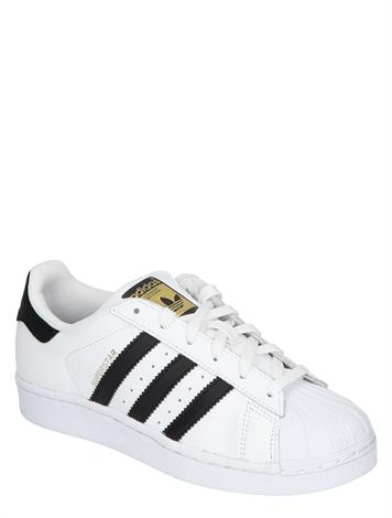 Adidas Superstar J White Core Black