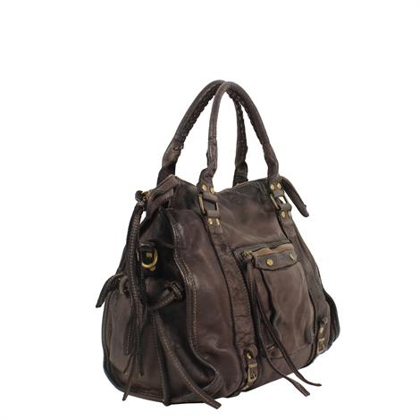 Civico 5640 Vintage Handbag Brown