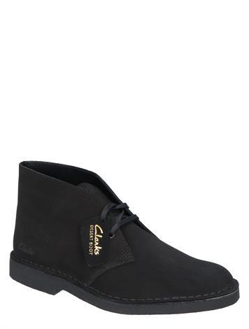 Clarks Originals Desert Boot 2 Black Suede