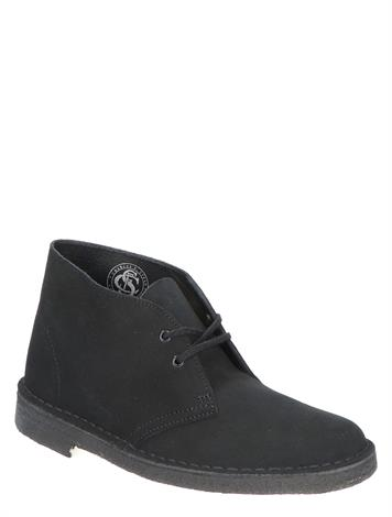 Clarks Originals Desert Boot Black Suede