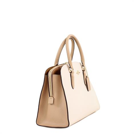 Coach Channing Carryall In Colorblock Chalk Multi