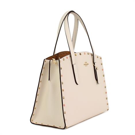 Coach Charlie Carryall with Crystal Rivets Chalk