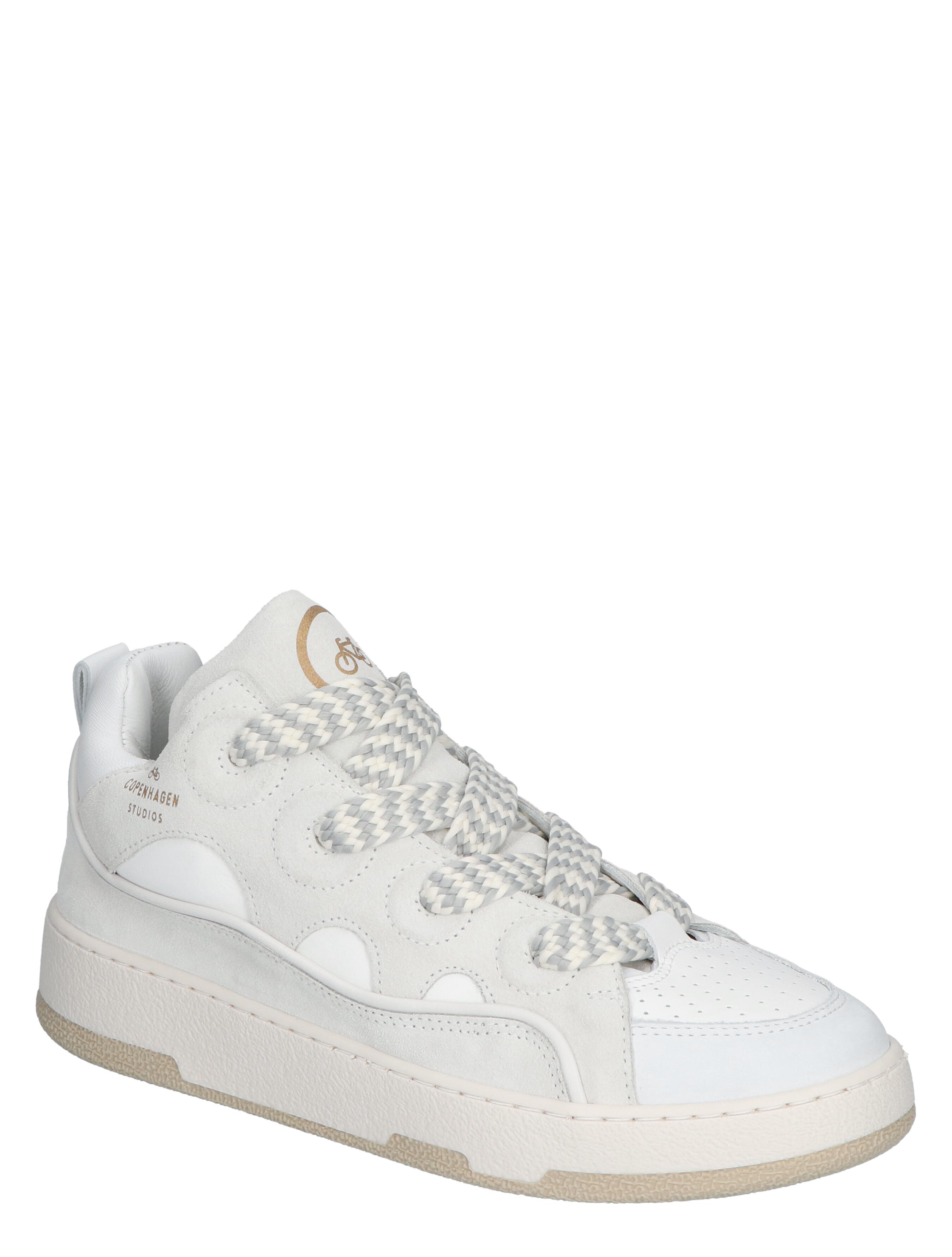 Copenhagen CPH 201 Leather Mix White Lage sneakers