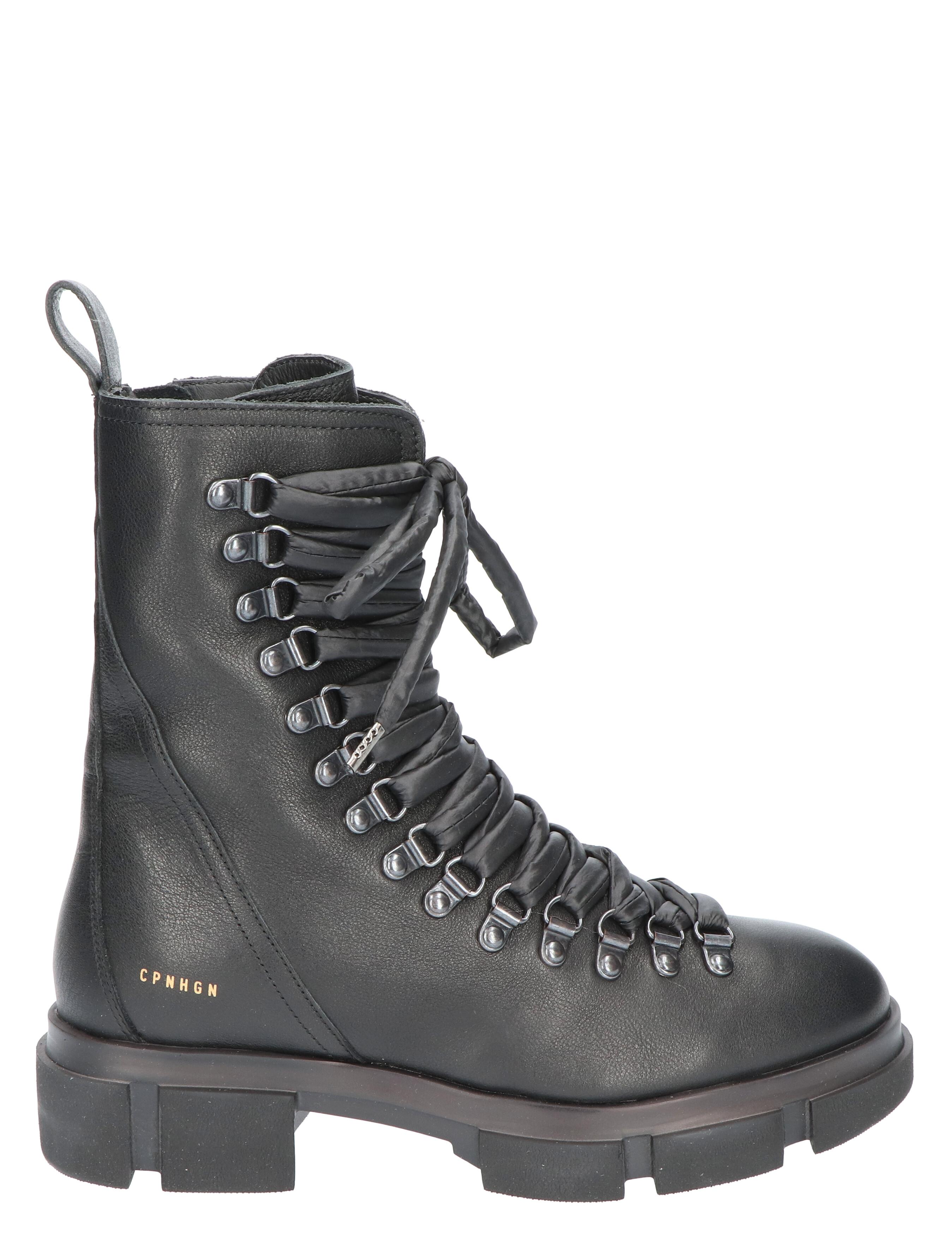 Copenhagen CPH 559 Vitello Black Biker boots