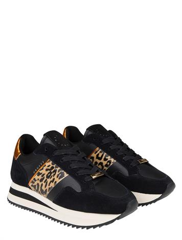 Cruyff Solana Black Leopard