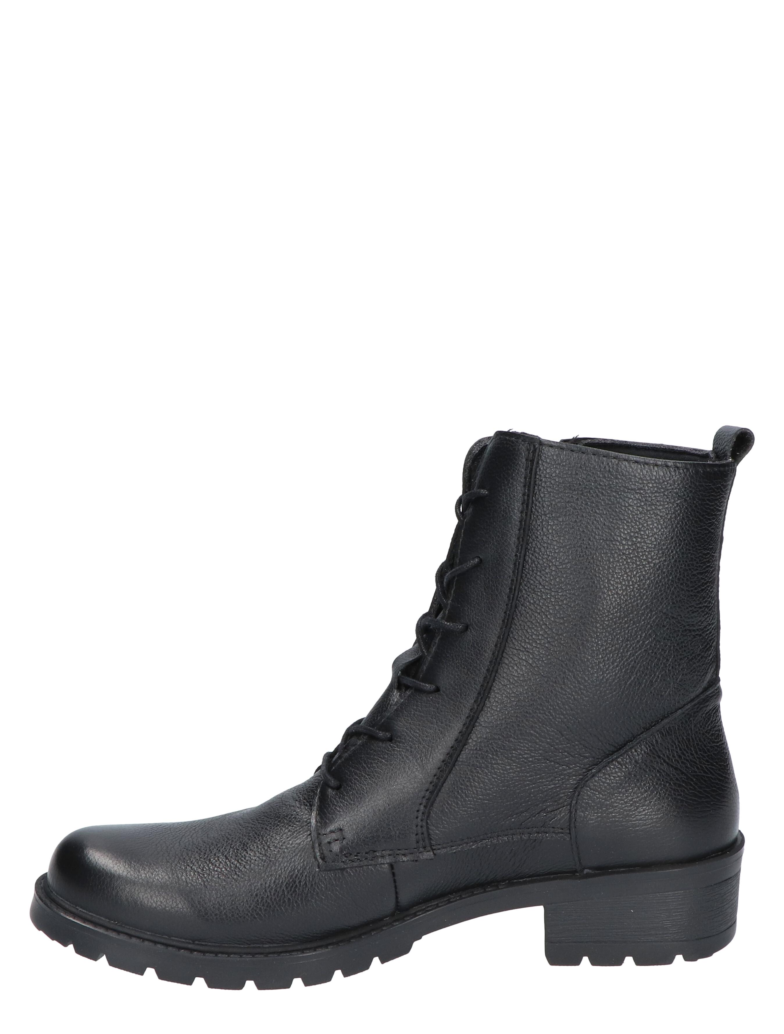 Cypres Comfort Noan Black Floater G+ Wijdte Veter boots