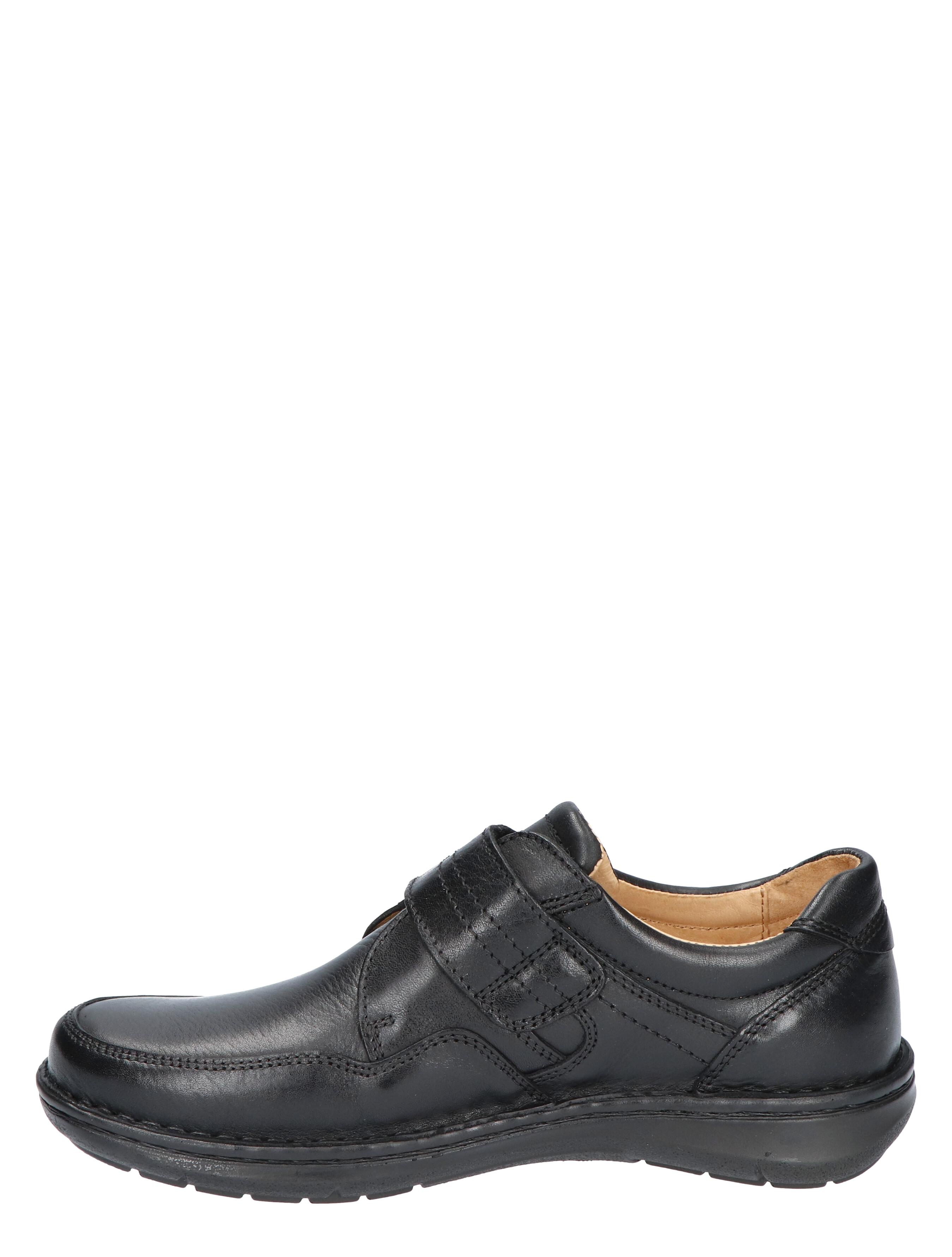 Cypres Comfort Nyck Black G+ Wijdte Klittenbandschoenen