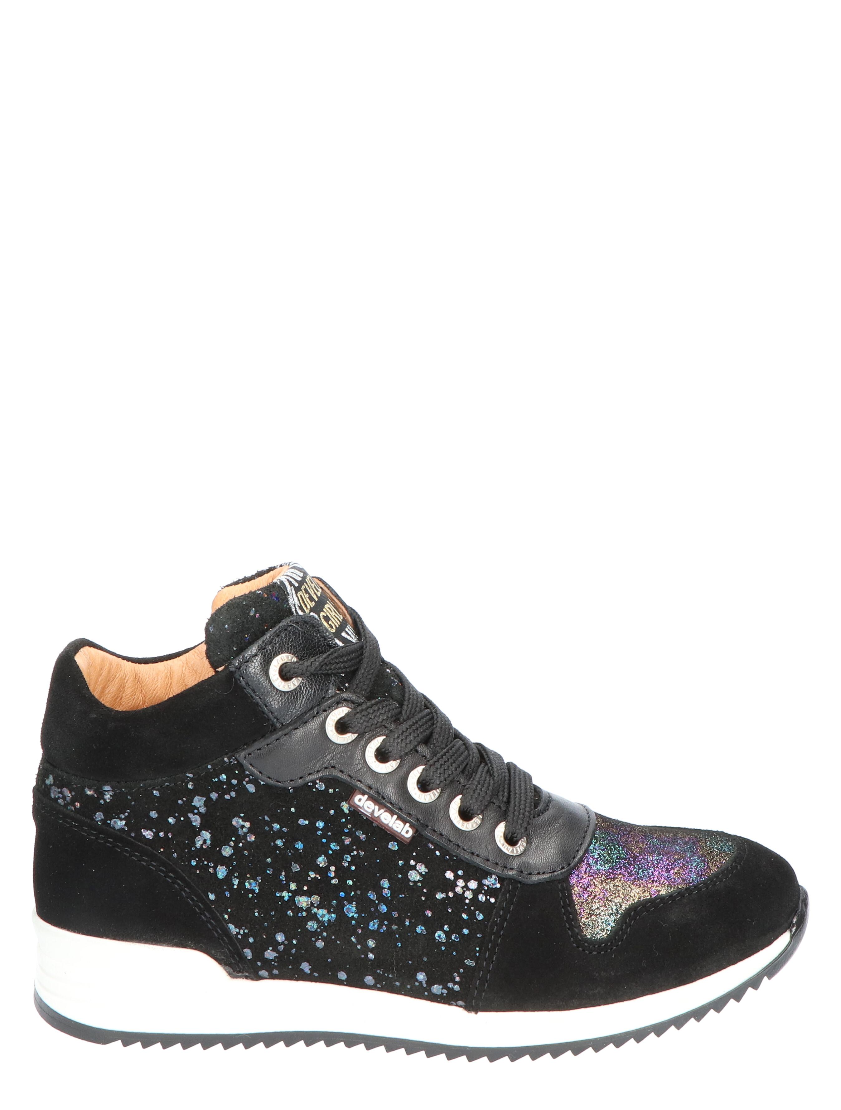Develab 41624 081 Multicolour Metallic Sneakers hoge-sneakers