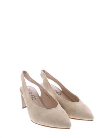 Di Lauro Helez Beige Sheep Suede