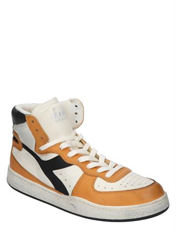 Diadora Mi Basket Used Snow White Nugget