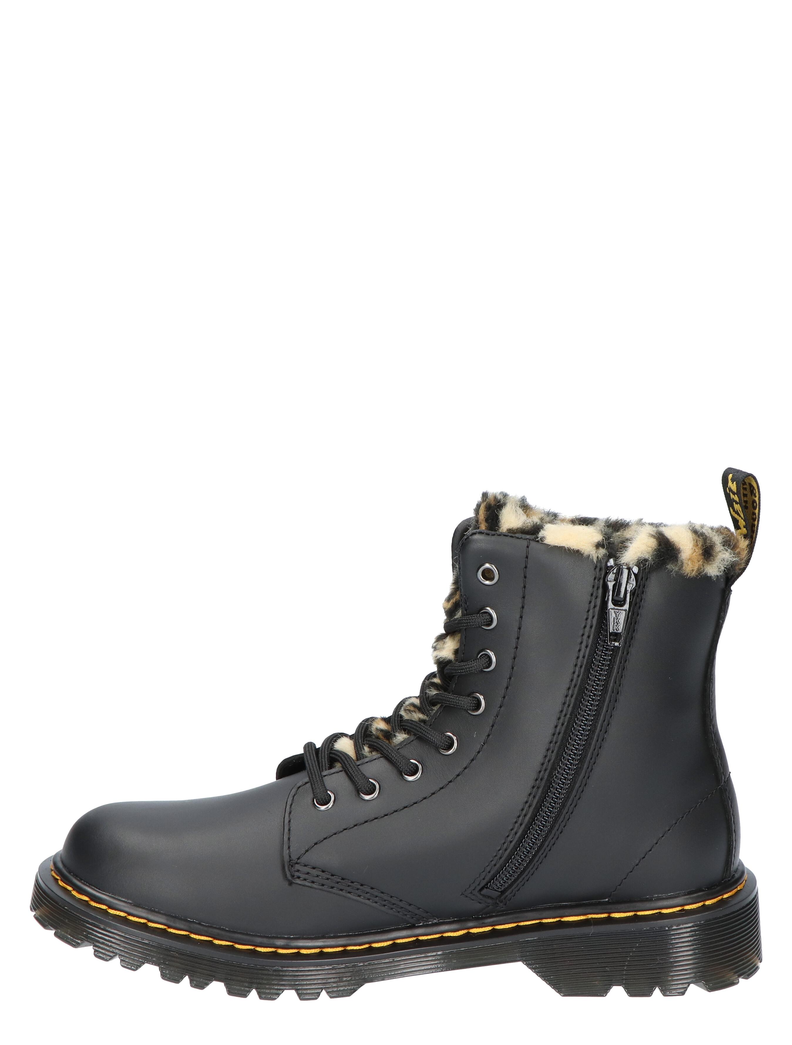 Dr Martens 1460 Serena Black Romari Biker boots