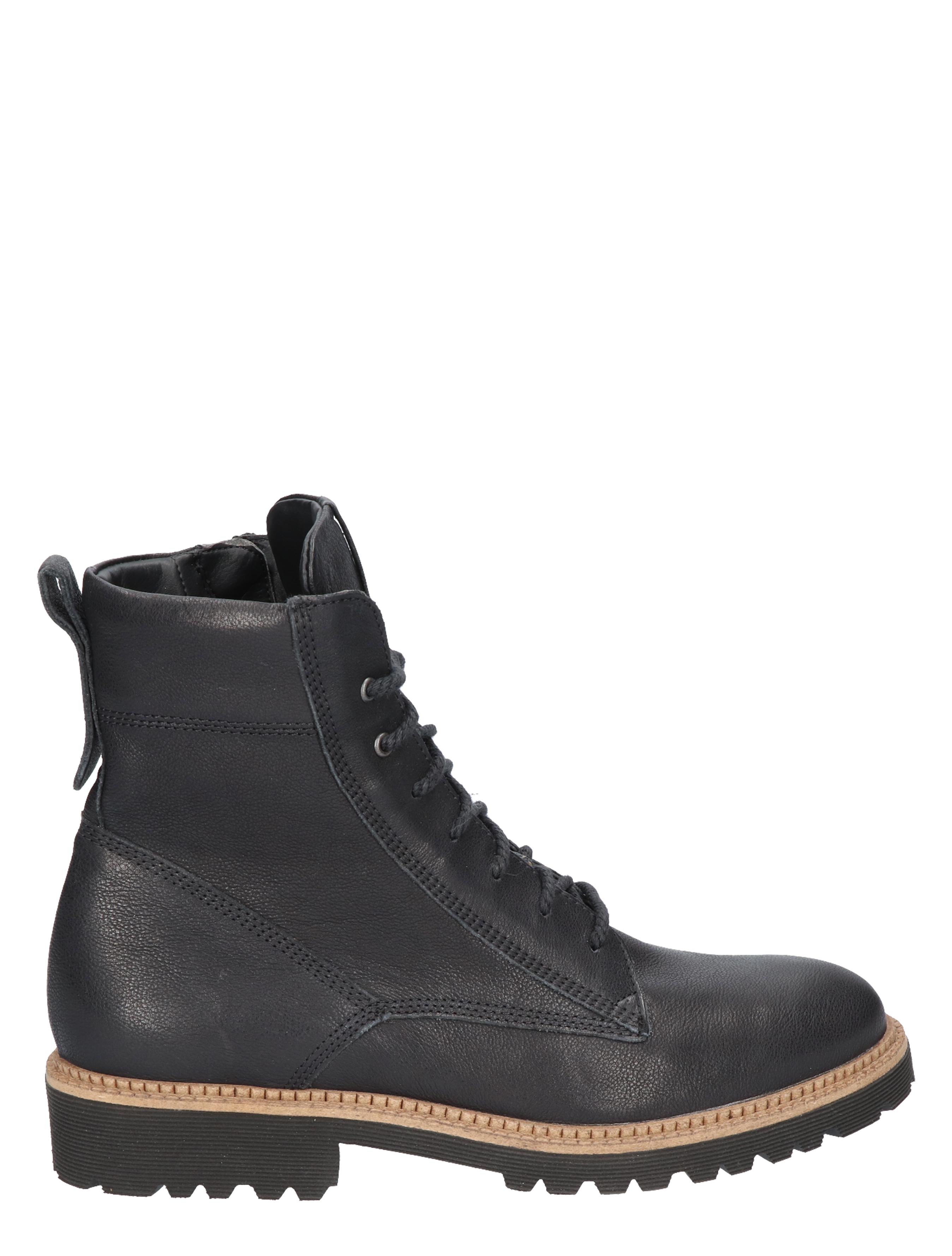 Durea 9722 188K Zwart K-Wijdte Veter boots