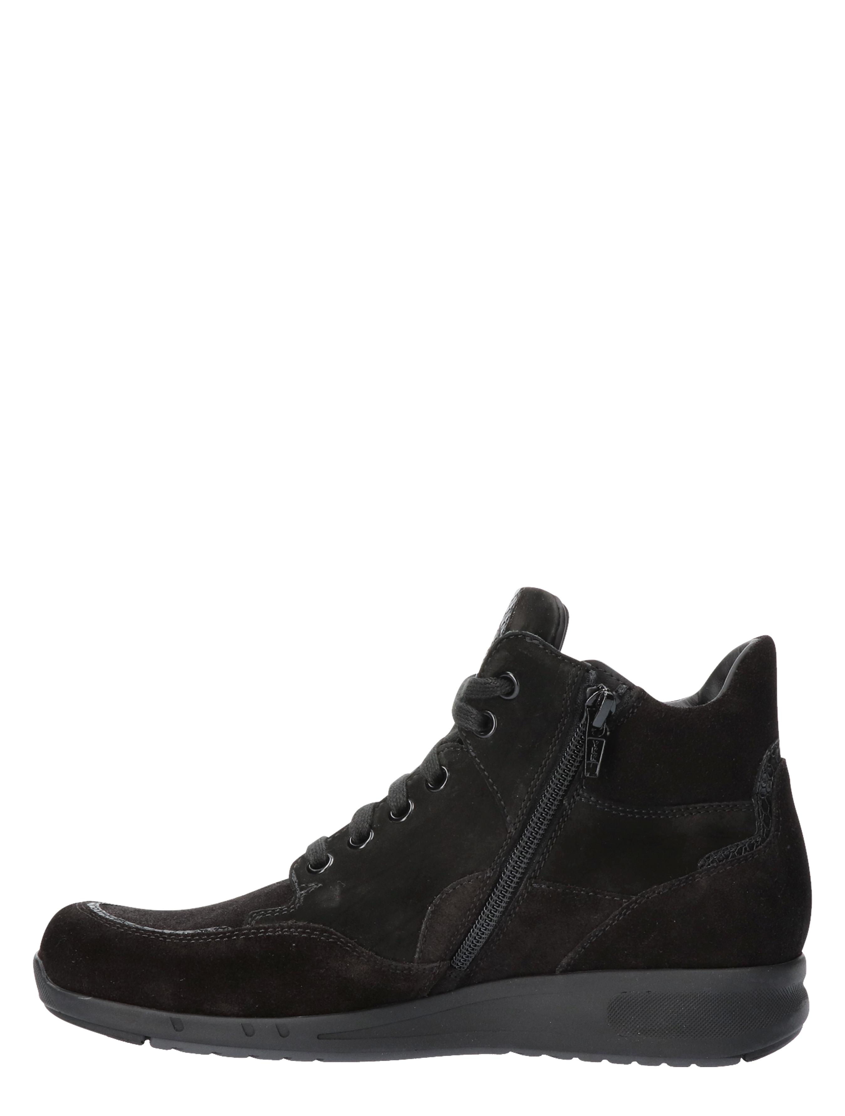 Durea 9735 682E Zwart E-Wijdte Veter boots