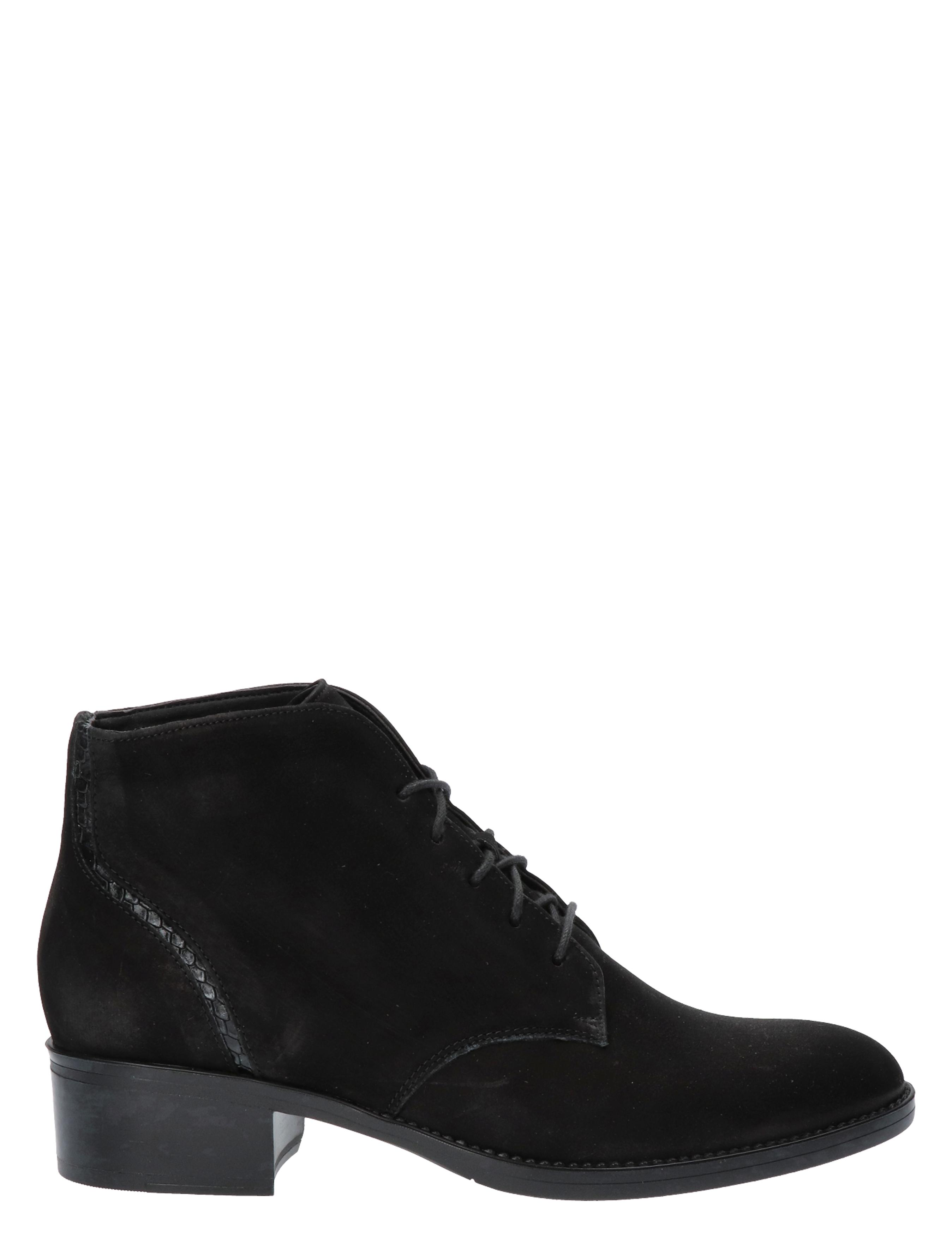 Durea 9738 918K Zwart K-Wijdte Veter boots