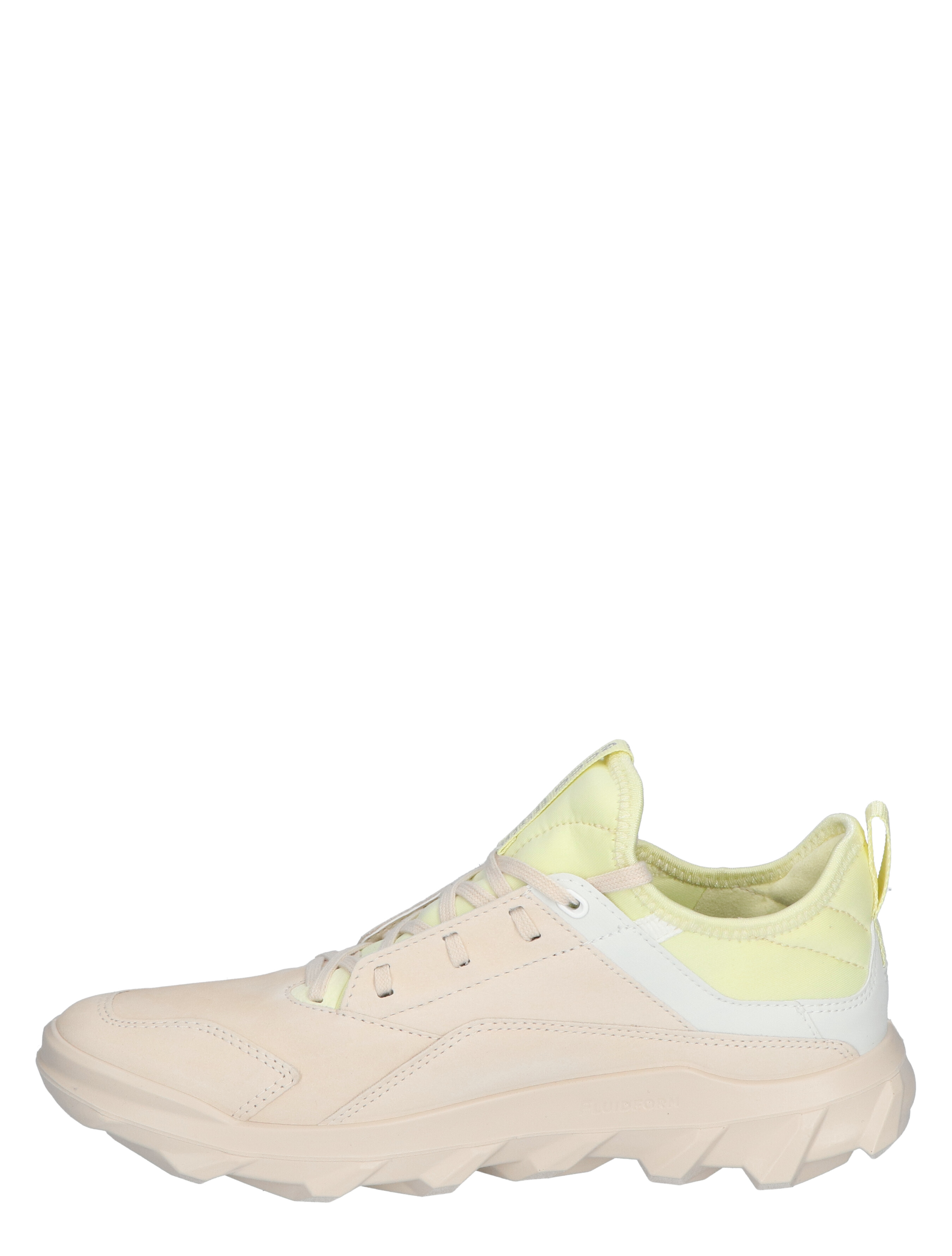 ECCO MW W Limestone Lage sneakers