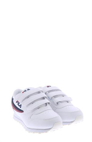 Fila Orbit Low Kids White Dress Blue
