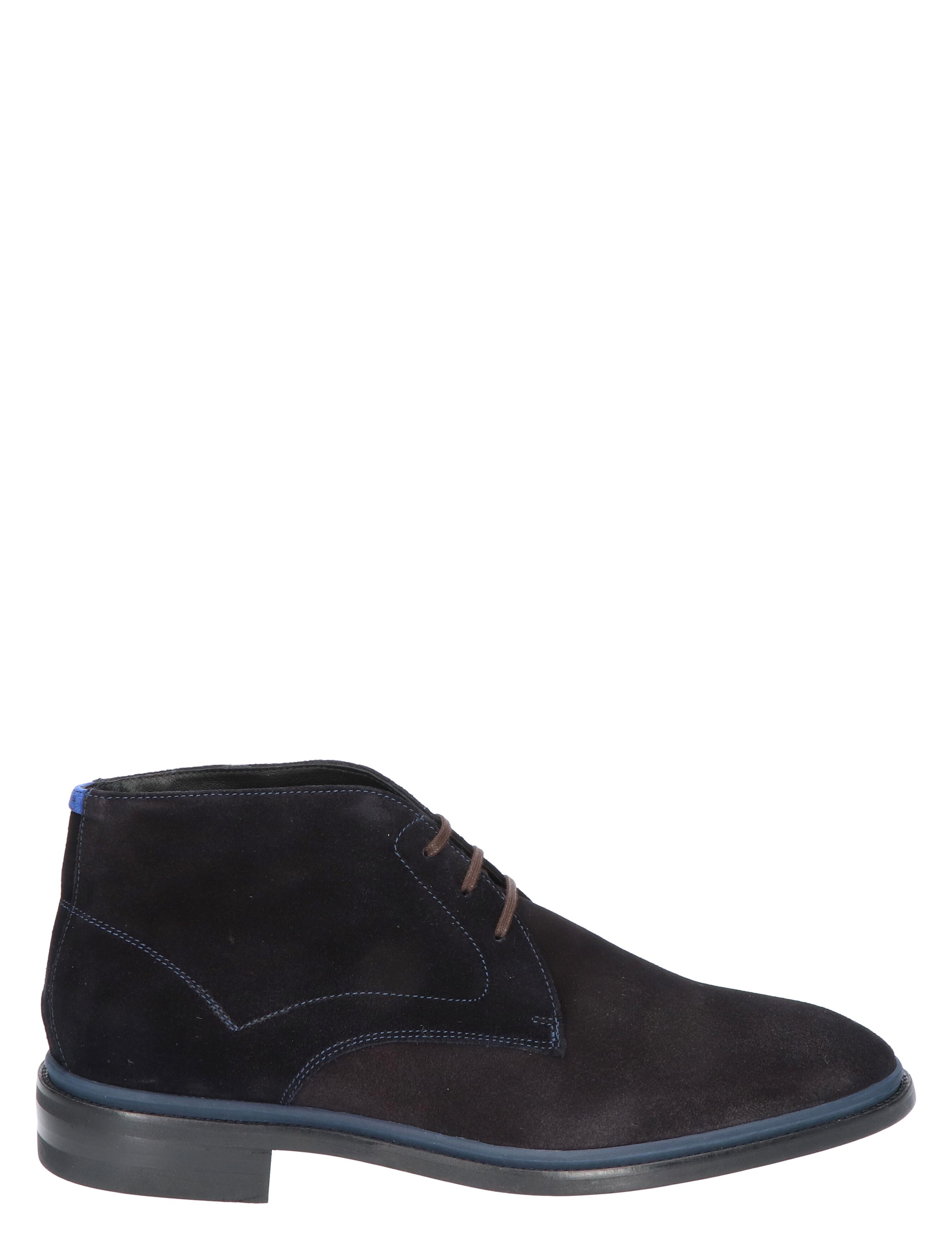 Floris van Bommel 10667 Dark Blue H-Wijdte Veter boots