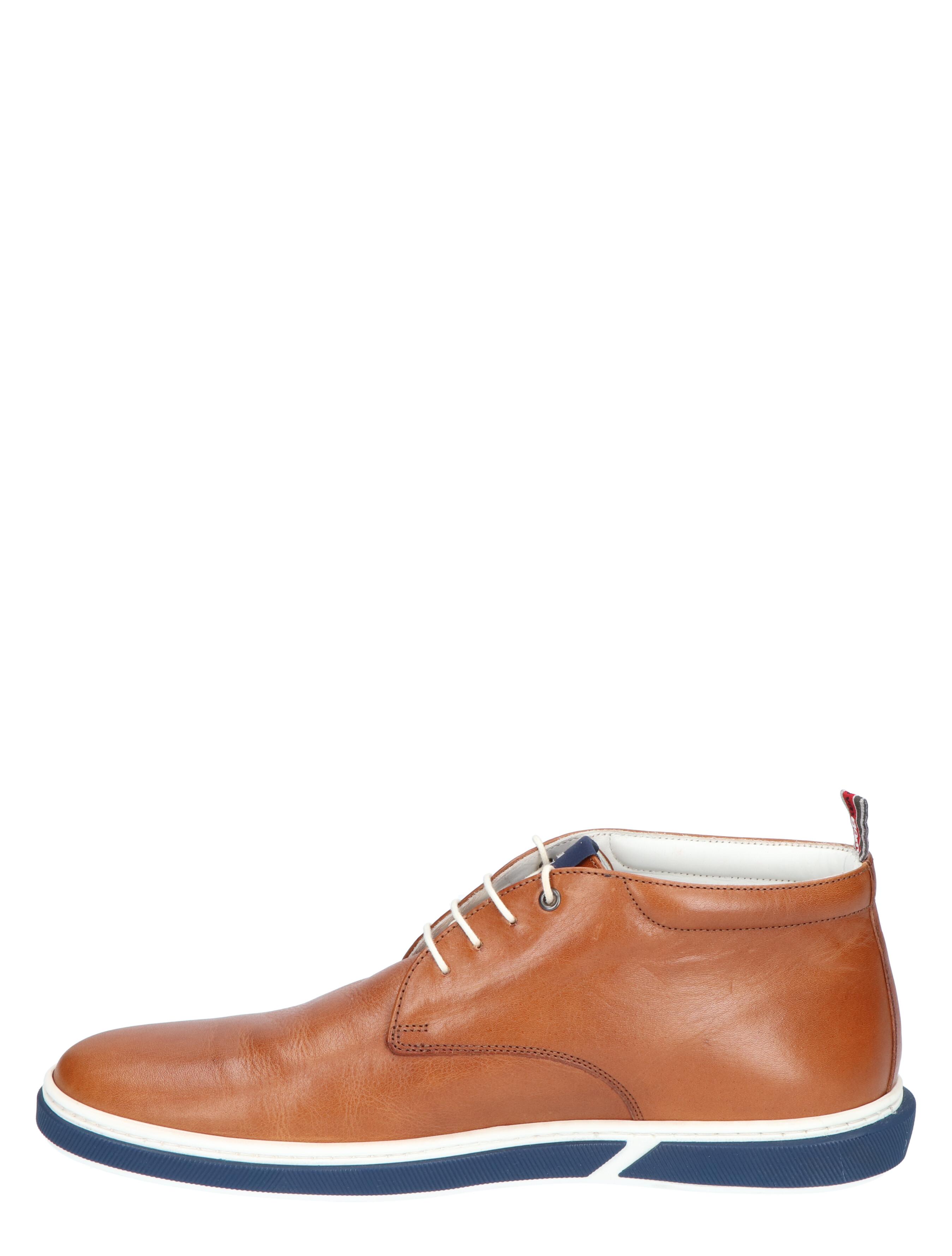 Floris van Bommel 20350 Cognac G+ Wijdte Veter boots