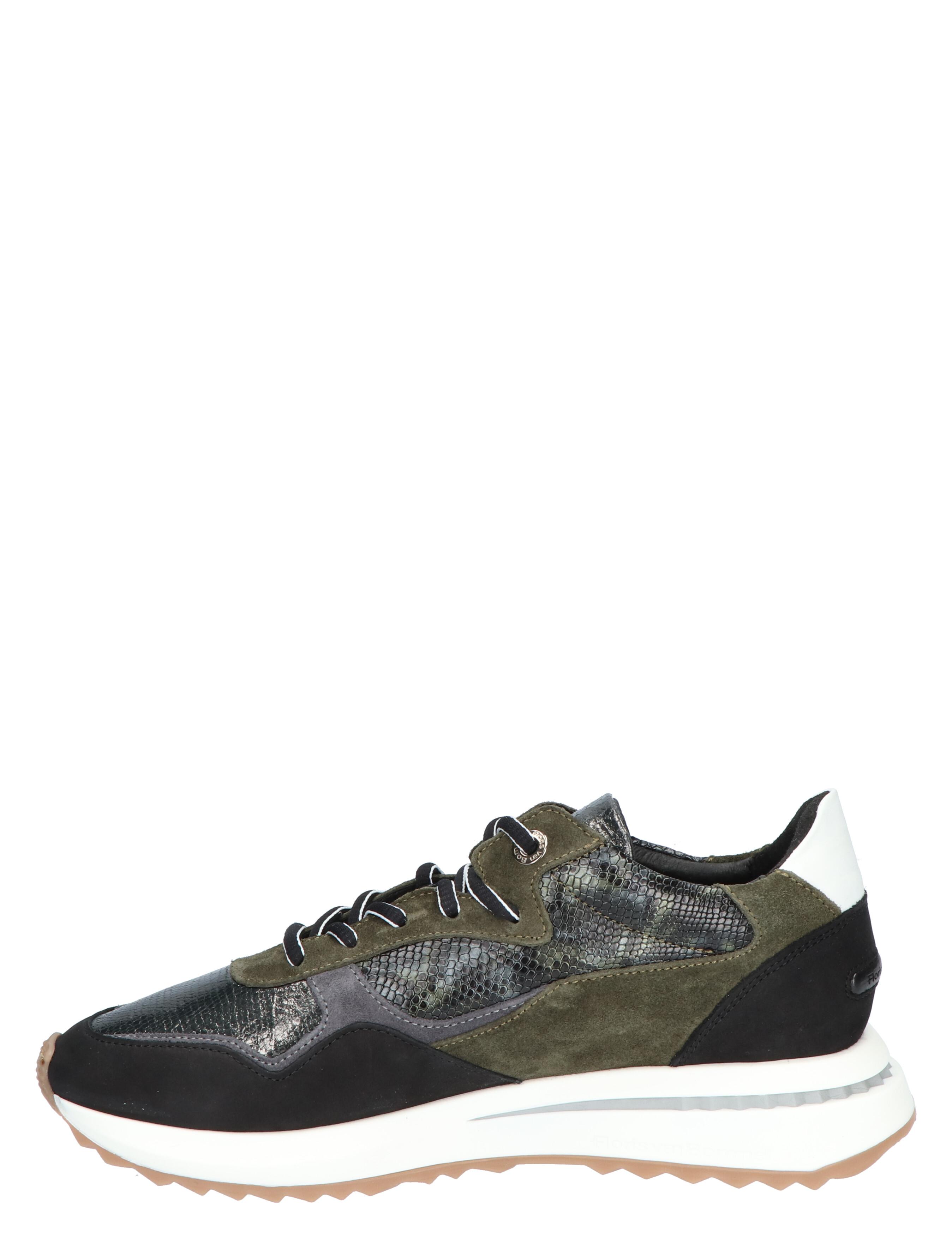 Floris van Bommel 85351 Dark Green G-Wijdte Lage sneakers
