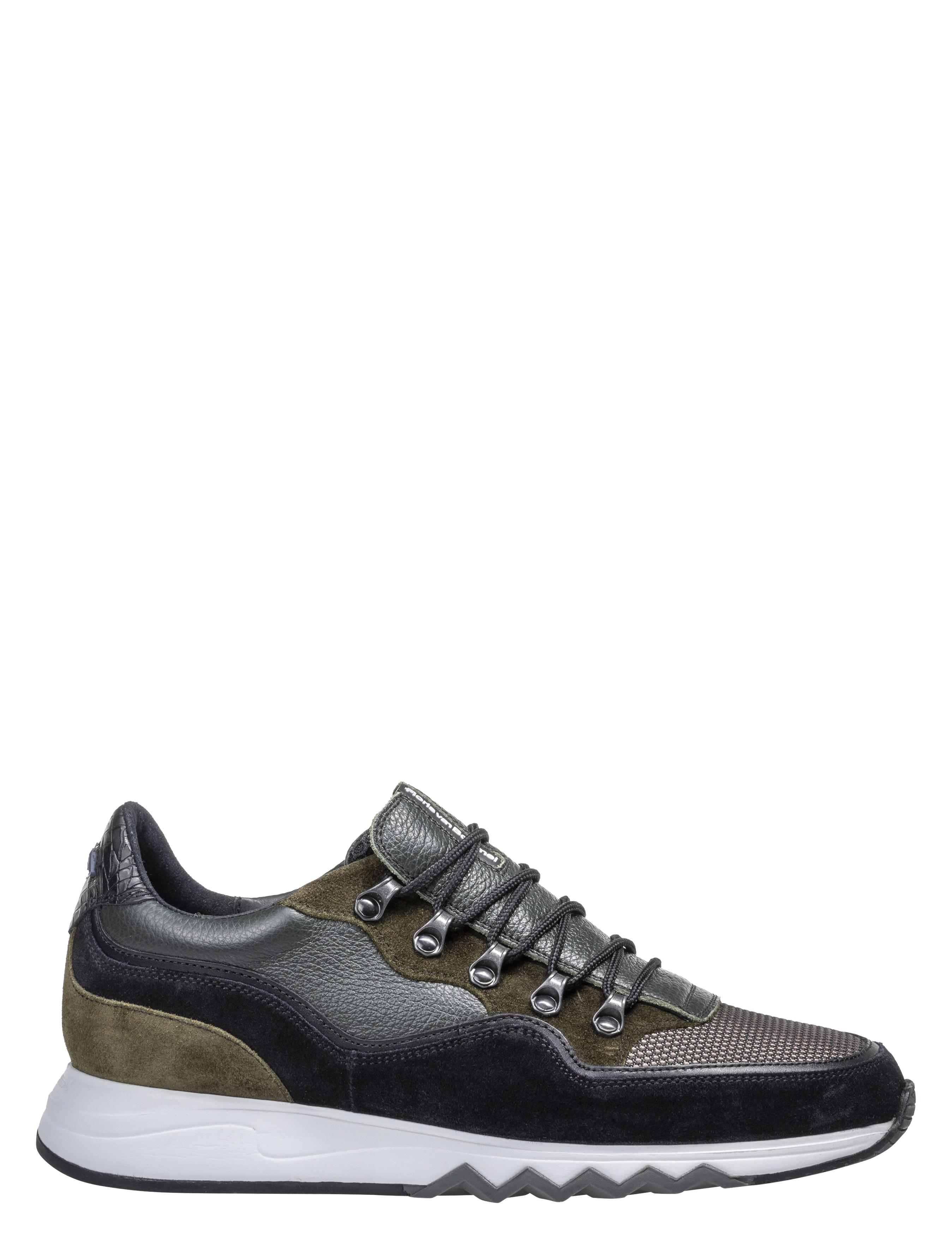 Floris van Bommel Nineti 16393 Dark Green G+ Wijdte Sneakers