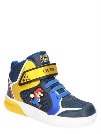 Geox Gray Jay Boy Mario & Luigi J169YD  Royal Yellow