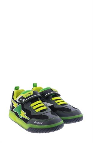 Geox J029CB Black Green Yellow