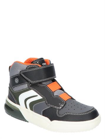 Geox J049YD Black Orange
