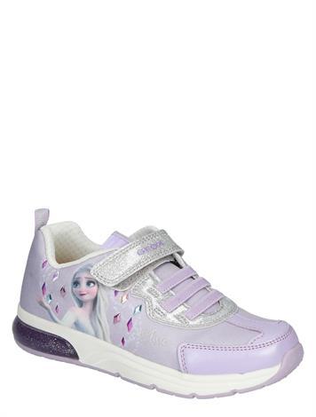 Geox Spaceclub Girls Lilac Silver