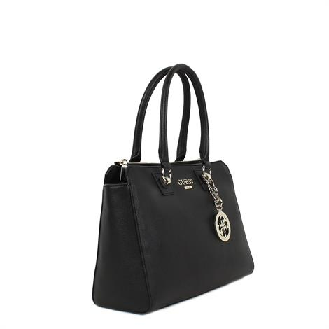 Guess Alma Society Satchell Black