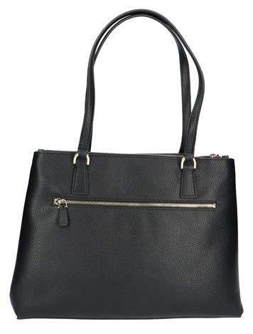 Guess Becca Luxury Satchel Black