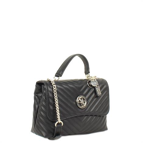 Guess Blakely Tophandle Flap Black