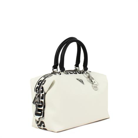 Guess Narita Soho Satchell White Multi