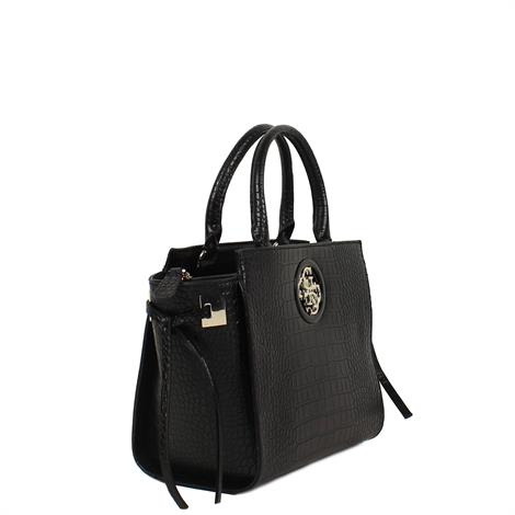 Guess Open Road Society Satchell Black