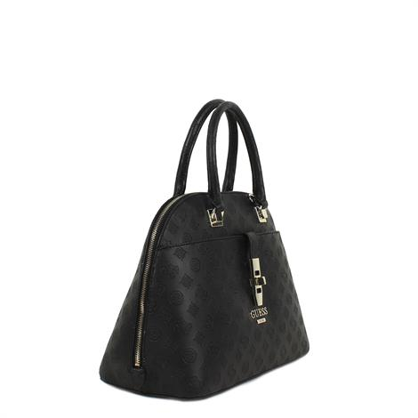 Guess Peony Classic Large Dome Satchell Black