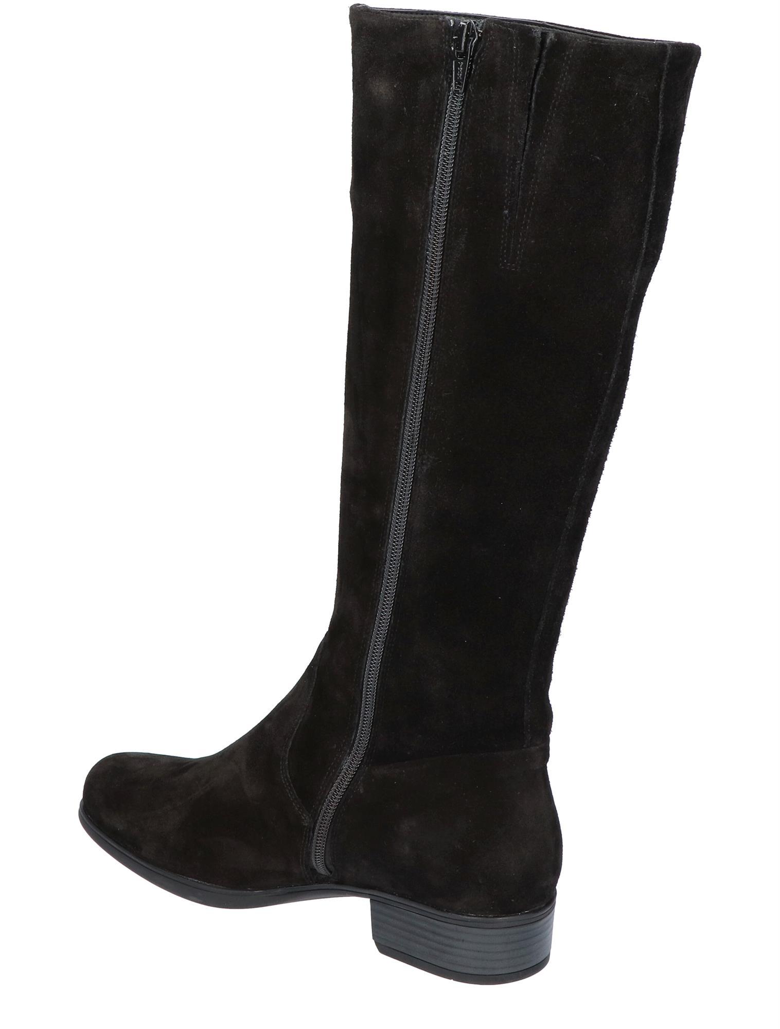 Durea 9644 975 Zwart H Wijdte Boots Nolten