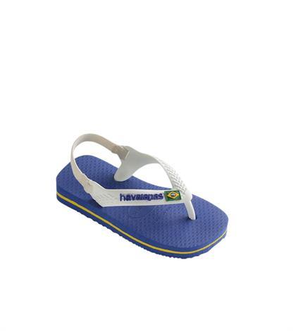 Havaianas Baby Brasil Logo 3130577 2711 Marine Blue