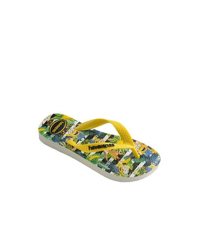 Havaianas Kids Minions White Yellow