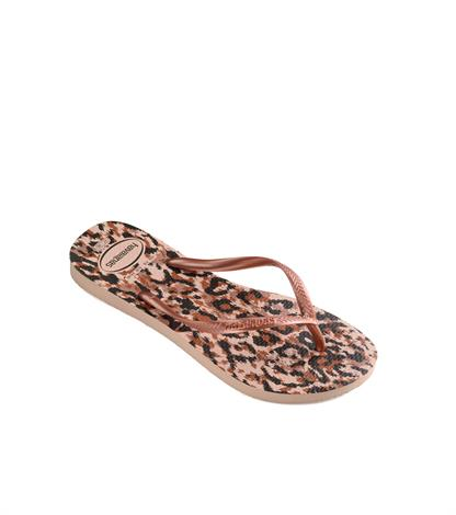 Havaianas Kids Slim Animal Ballet Rose