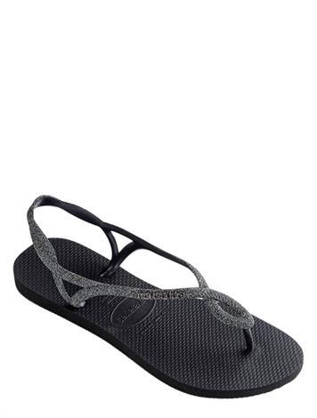 Havaianas Luna Premium Black/Dark Grey