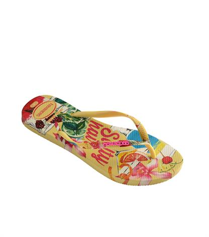 Havaianas Slim Summer Lemon Yellow