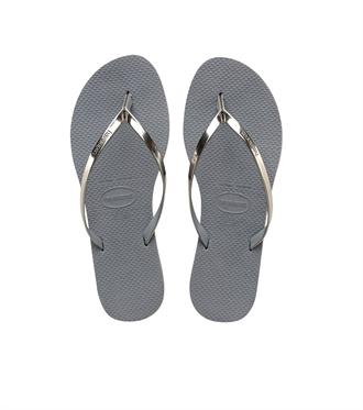 Havaianas You Metallic Grey