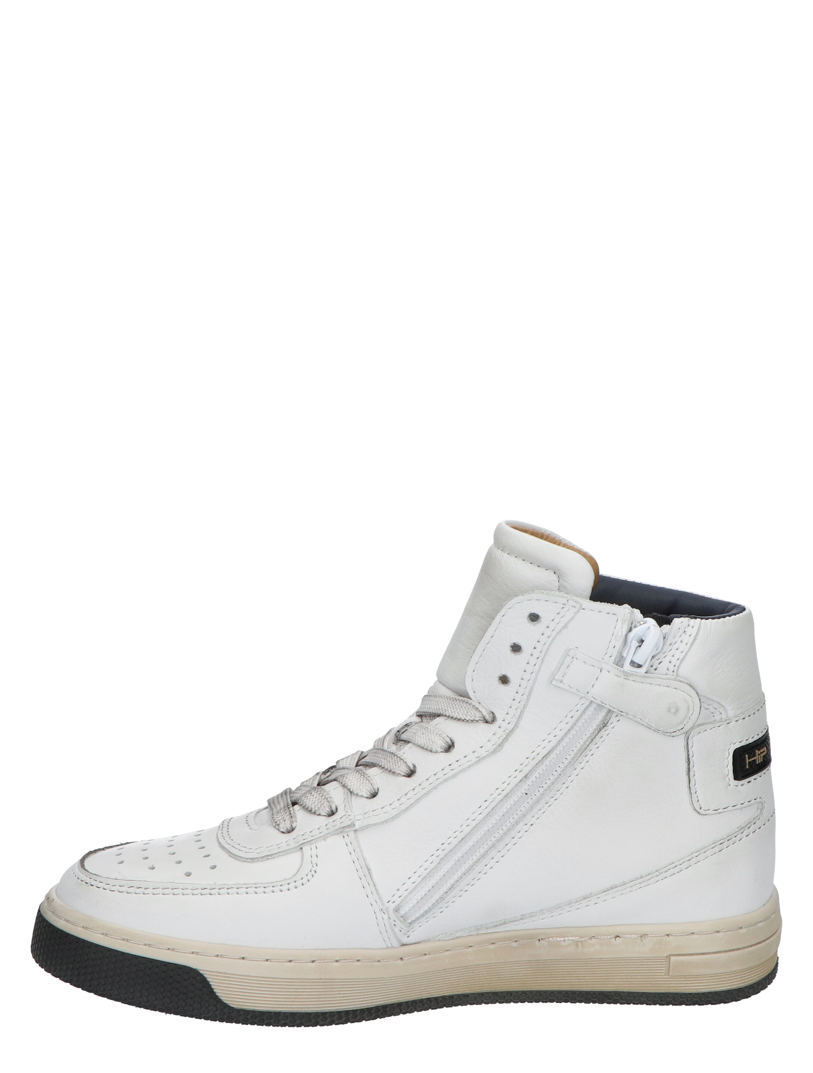 Hip H1174 White Dark Blue Sneakers hoge-sneakers