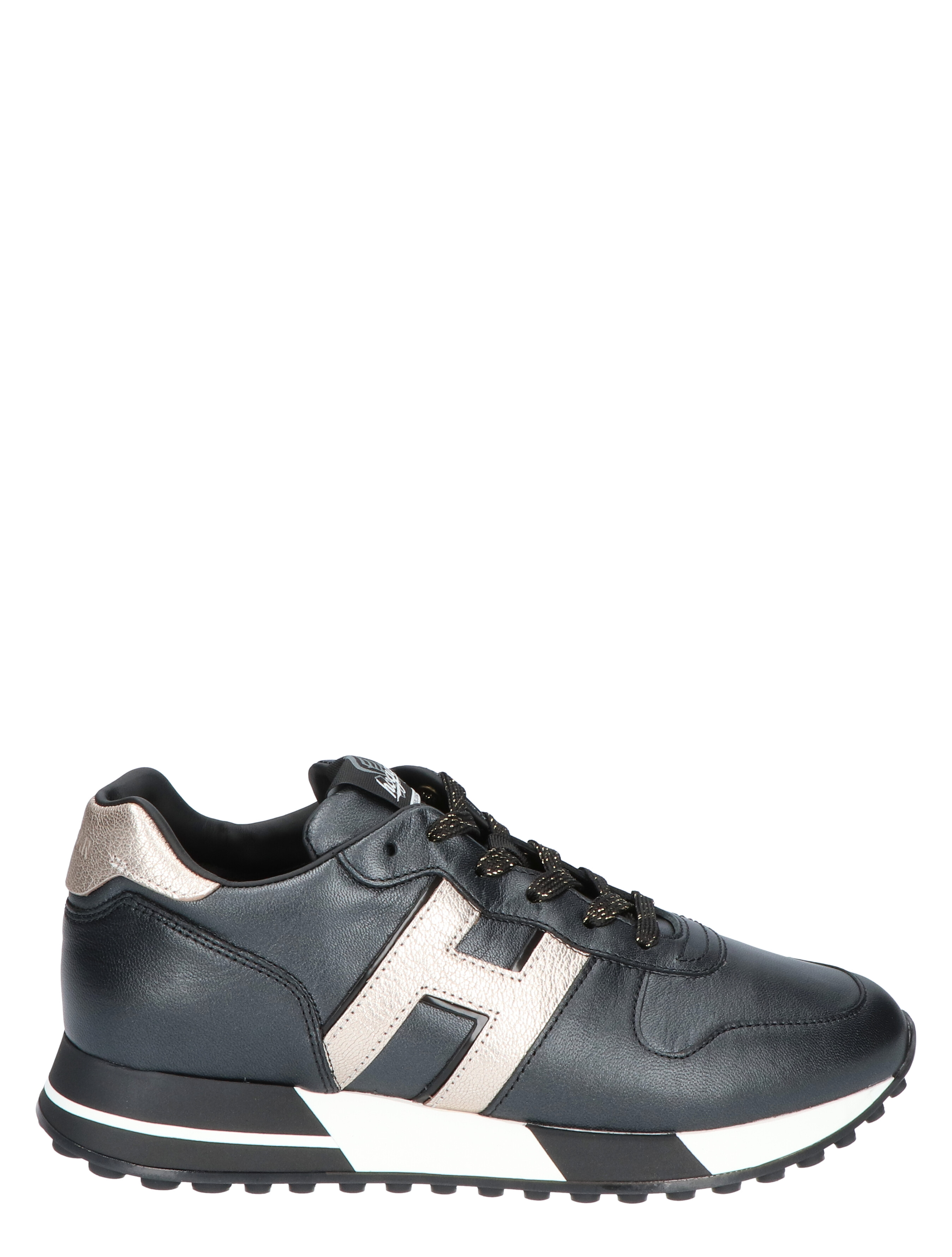 Hogan H383 Black Sneakers