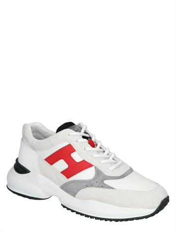 Hogan Interaction White Grey Red
