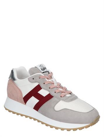 Hogan Sneaker H383 Beige Grey Red