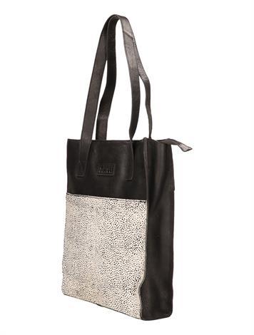 Maruti Shopper Black Pixel Off White
