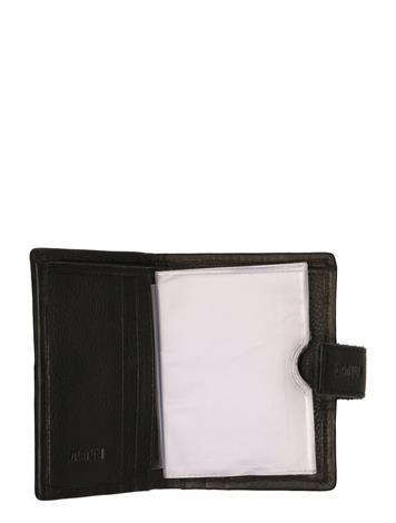 Maruti Wallet Black Pixel Off White
