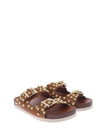 Mia & Jo Huetts Brown Pu