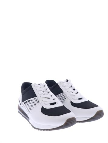 Michael Kors Allie Trainer Ext Black Optic White